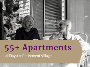 55+ Apartments at Daystar Retirement Village