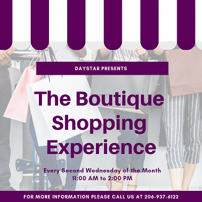 Boutique Shopping Experience at Daystar